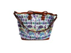 Big handmade bag made with guatemalan huipil by handmadewithart