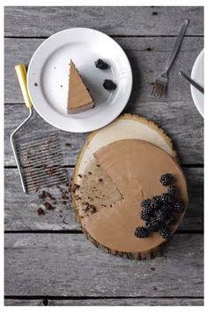 // chocolate blackberry cake
