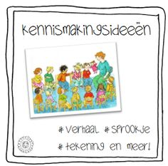 Kleuterjuf in een kleuterklas: Kennismakingsideeën voor je stage I Love School, Back 2 School, Pre School, Conscious Discipline, Speech Language Therapy, School Hacks, School Classroom, Primary School, Classroom Management
