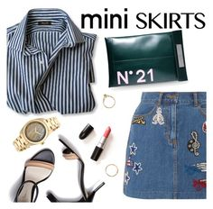 """Mini Me: Cute Skirts"" by punnky ❤ liked on Polyvore featuring Marc Jacobs, N°21, 3.1 Phillip Lim, Invicta and Iosselliani"