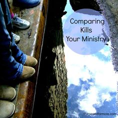 Comparing kills your ministry | Allied Women