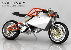 Voltra Electric Motorcycle Concept – Look Ma, No Tank! | PlugBike.com
