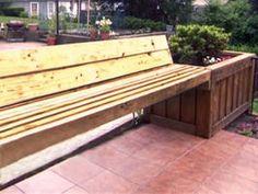 36 Best Planter Bench Plans Images Trough Planters Planter Bench