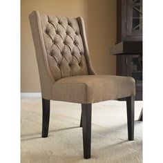 Shop for Captiva Island Dining Chair-Muddy Brown Linen - Set Of 2. Get free shipping at Overstock.com - Your Online Furniture Outlet Store! Get 5% in rewards with Club O!