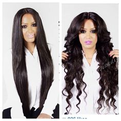The virgin hair fantasy I love her hair! !!