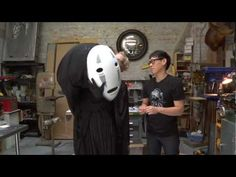 Inside Adam Savage's Man Cave: Spirited Away No-Face Cosplay    Adam is such a serious cosplayer.
