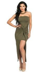 LIBI STRAPLESS DRESS