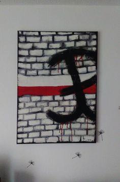 Polish uprising army sign during ll world war called ( Polska Walcząca ) my work and project