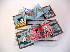 Tiny books by Aya Kakeda