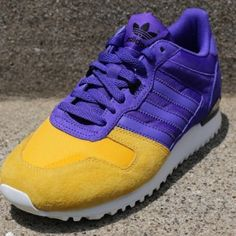 "old school....adidas Originals ZX 700 ""Lakers"""