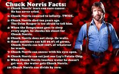 .Chuck Norris Facts: