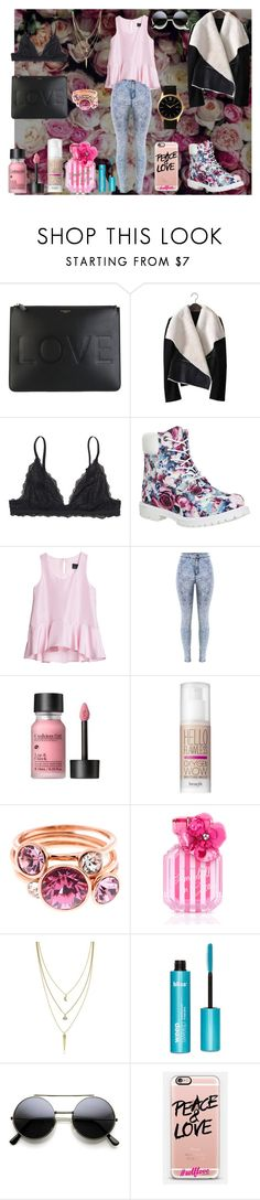 """""""Make A Move"""" by wild-young-free-thrilled ❤ liked on Polyvore featuring Givenchy, Monki, Timberland, Cynthia Rowley, Benefit, Ted Baker, Victoria's Secret, Cole Haan, Casetify and Larsson & Jennings"""