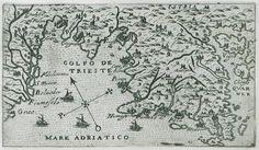 Map of the bay of Trieste. - ROSACCIO, Giuseppe