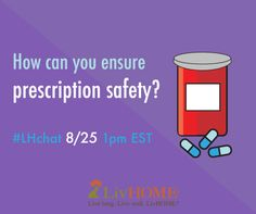 Join our Twitter Chat today at 1 pm EST! Come chat about #senior #safety at home #LHchat.