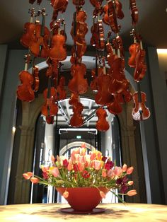 The Conservatorium Hotel decorated for the Amsterdam Tulip Days (27 and 28th fo April 2013)