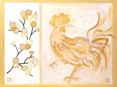 Peach Blossom Rooster (LD 6)