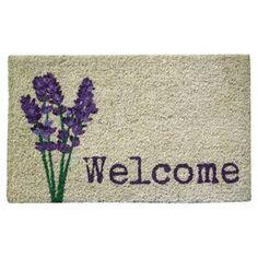 Lavender Indoor/Outdoor Doormat