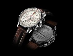 The Montbrillant 01 chronograph features a look inspired by the as well as the famous aviation slide rule and an engraved caseback. Breitling Superocean Heritage, Breitling Navitimer, Breitling Watches, Cool Watches, Watches For Men, Men's Watches, Watches Photography, Well Dressed Men, Luxury Watches