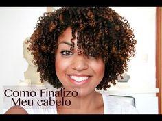 Como Finalizo Meu Cabelo-Dedolis CinndyRizos - YouTube