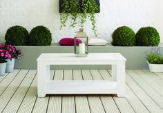 Ronseal Garden Paint - Using Slate and Daisy