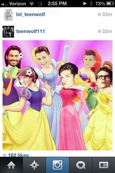 Teen wolf... This is so funny