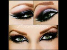 Maquiagem super marcante, com Luciane Ferraes - YouTube