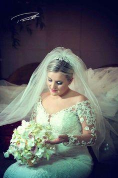 Noiva Caroline  _ Casamento realizado em Maravilha Sc  _ 19.03.16  Fotografia Perotti