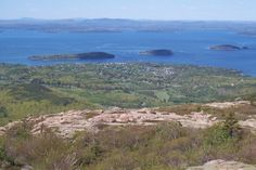 Cadillac Mountain. Mt. Desert Island, Maine. Best view on the East Coast. Hands down.