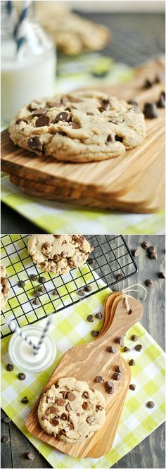This recipe yields a wonderfully thick, hearty cookie with a unique and decadent flavor that I haven't seen duplicated in any of the other recipes so far.