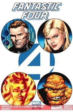 Fantastic Four #574 (Eaglesham Team Variant)