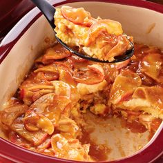 Quick Apple Cream Cake - The Pampered Chef®  Shop my store: www.pamperedchef.biz/rachelcoleman