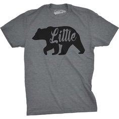 Little Bear Kids Tee Shirt Funny Toddler T-shirt Animal Graphic