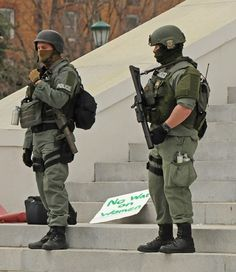 It is a war on women.. 10 Pictures Of Riot Police At A Peaceful Women's Rights Protest In Virginia