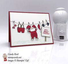 Santa's Suit on Laundry Day - https://stampcandy.net/cards/santas-suit-laundry-day-card/