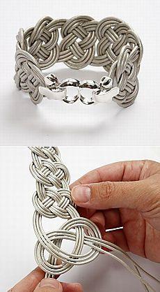 Braided bracelet (DIY) / Jewellery and jewelry /