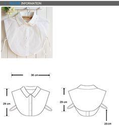 Clever 6 Styles Women Half Shirt Fake Collar Plaid Pattern Detachable Blouse Tops Lapel Collars Clear-Cut Texture Blouses & Shirts