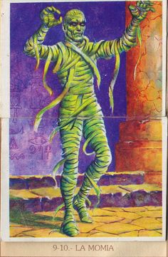 ☆ Monstrous Trading Cards: La Momia «The Mummy» ☆