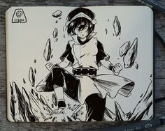 #224 Avatar Book Two: Earth by 365-DaysOfDoodles.deviantart.com on @deviantART