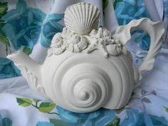 Seashell Teapot