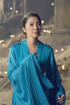 The sorceress Zi Juan - Michelle Yeoh in The Mummy: Tomb of the Dragon Emperor Michelle Yeoh, Brendan Fraser, Rachel Weisz, The Mummy 3, Ang Lee, Memoirs Of A Geisha, By Any Means Necessary, Ipoh, Chinese Actress