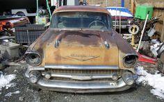 Tri-Five Under $4k! 1957 Chevrolet Bel Air - http://barnfinds.com/tri-five-under-4k-1957-chevrolet-bel-air/