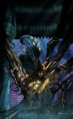 Alien by Stephen Youll