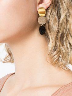 Lizzie Fortunato Jewels Nightfall drop earrings