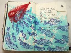 Trina is artsy fartsy: Wreck This Journal...Part Two!