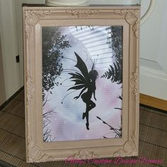 ♥♥ Custom Designed Taupe French Antique Style Moulded Plastic Frame ♥♥
