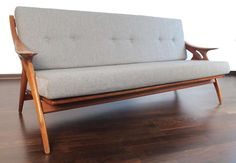 1950s De Ster Gelderland Danish Lounge Chair Sofa Set