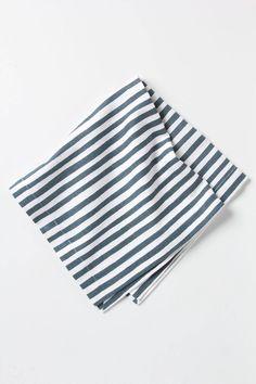 Striped Napkin / Anthropologie - easy peasy DIY