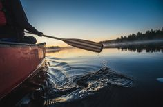 Canoeing Ray Mears