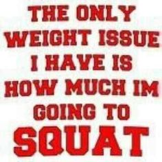 Watch the weight on the bar, not the scale