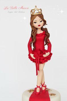La Belle Aurore - Šećer torta dizajn - Doll - Victoria